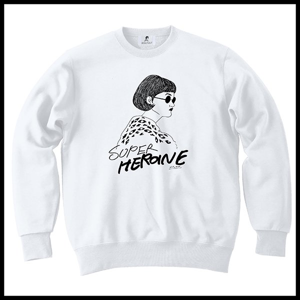SUPER HEROINE sweatshirt