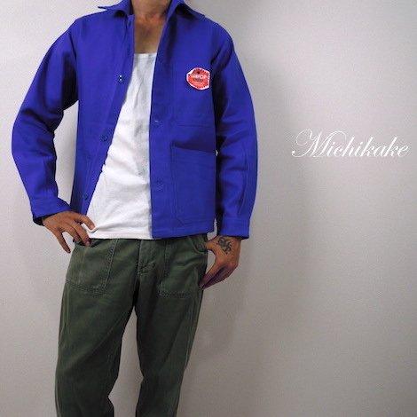 【デッドストック】1960's フランス製 LE COQ ユーロワークジャケット ネイビーカバーオール