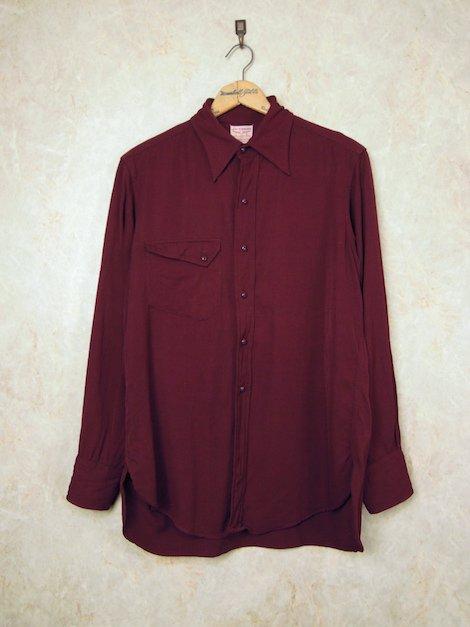 1940's リーバイス ロングホーン ギャバジンシャツ