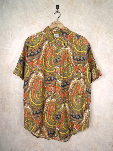 1960's Penney's TOWNCRAFT S/S サイケデリックシャツ