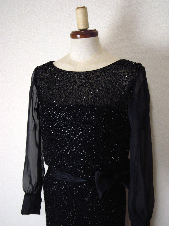 1920'sヴィンテージビーズドレス