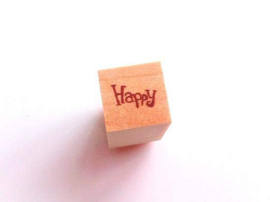 ミニスタンプ【Happy】