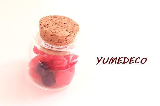 YUMEDECOミニ苺パーツセット
