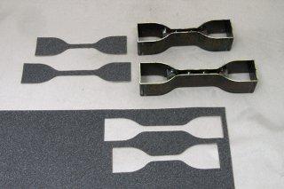 試験片カット用刃型 ダンベル刃型