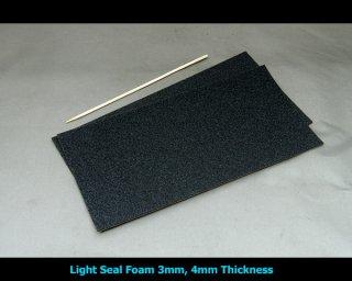 モルトプレン(糊つき) 3mm/4mm 2枚組