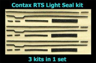 Contax RTS 専用カット済み裏蓋モルト貼り替えキット