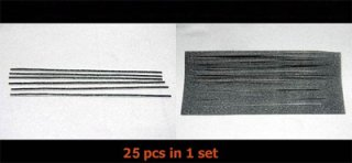 溝貼りモルト(1.5mm厚 1.3mm巾-2.5mm巾 5種類)25本