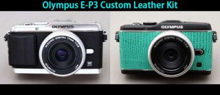Olympus E-P3 用貼り革キット