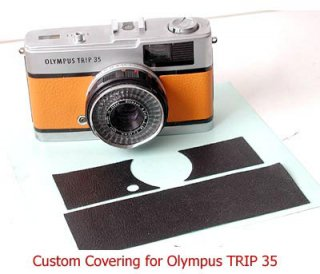 Olympus Trip35 用貼り革キット