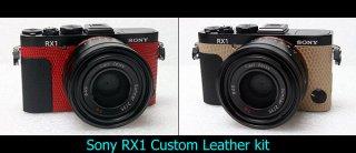 Sony RX1用カラー貼り革キット