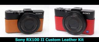 Sony DSC RX100 II 用カラー貼り革キット