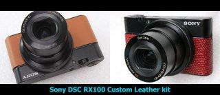 Sony DSC RX100 用カラー貼り革キット