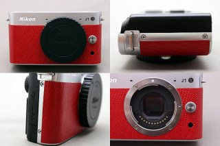 Nikon 1 J1用カラー貼り革キット