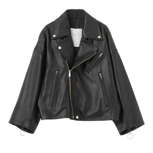 ELENDEEK RIDERS LEATHER BLOUSON