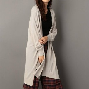 NINE Long High Gauge Cardigan