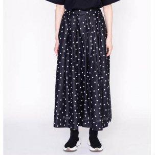 thomas magpie トーマスマグパイ long skirt dots black