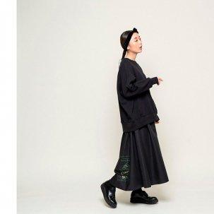 Thomas magpie バックプリンテッドスカート