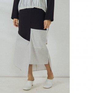 UN3D. シャツドッキングスカート