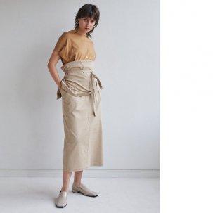 styling/ kei shirahata ミリタリードッキングワンピース