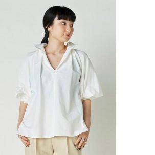 styling/ kei shirahata ボリュームスリーブシャツブラウス