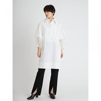 styling/ kei shirahata ボリュームスリーブミニワンピース