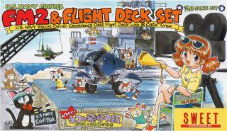 ネコの飛行甲板(U.S NAVY)
