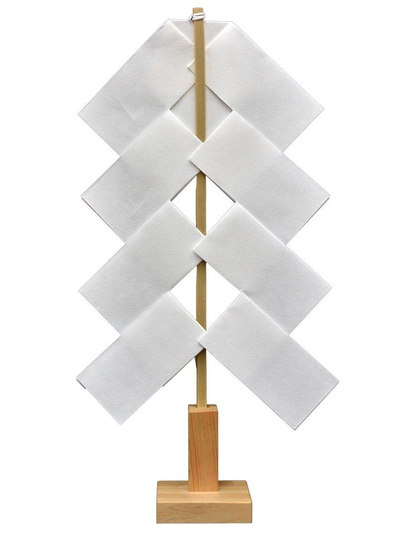 太平山神社 御神木  幣束立て