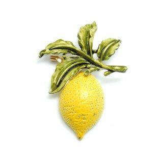 【激レア】CORO(コロ)☆レモンのヴィンテージ・ブローチ