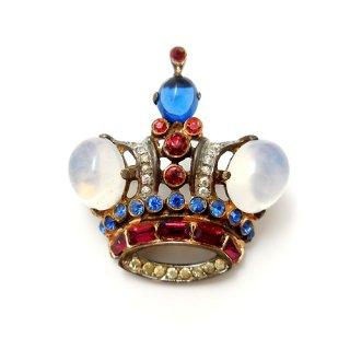 TRIFARI(トリファリ)☆スターリングシルバー 王冠のアンティークブローチ