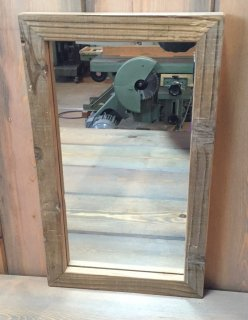 Oldwood framed Mirror