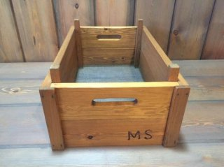 Antique Repro vegetable box