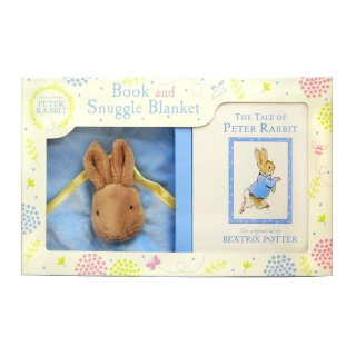 Peter Rabbit Book and Snuggle Blanket  PR