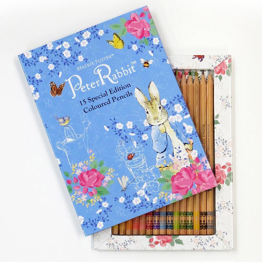 ピングー 大人の塗り絵POSTCARD BOOK ピーターラビット色鉛筆BOX  PR