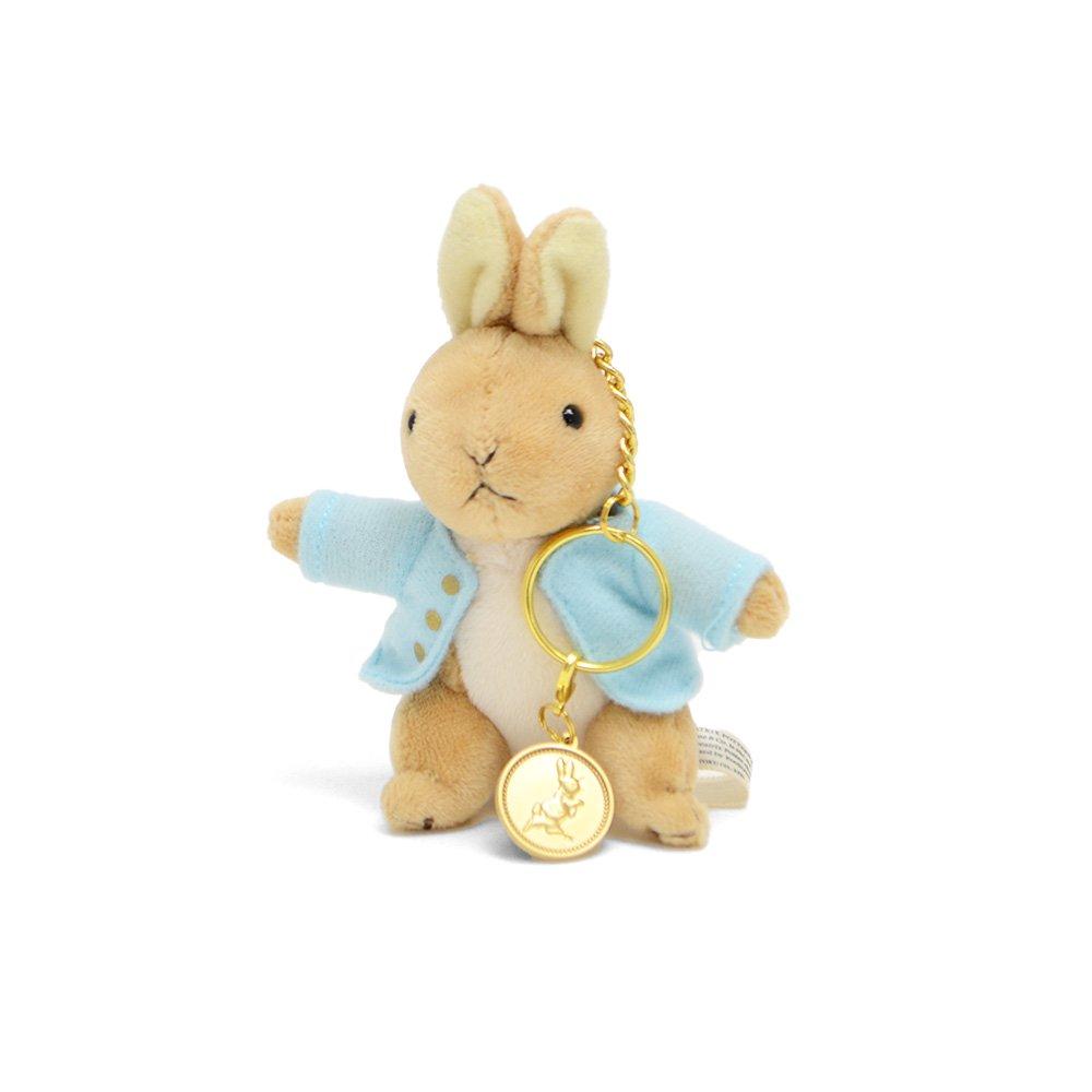 ピングー メダル付きマスコット(ピーターラビット) 182128 PR