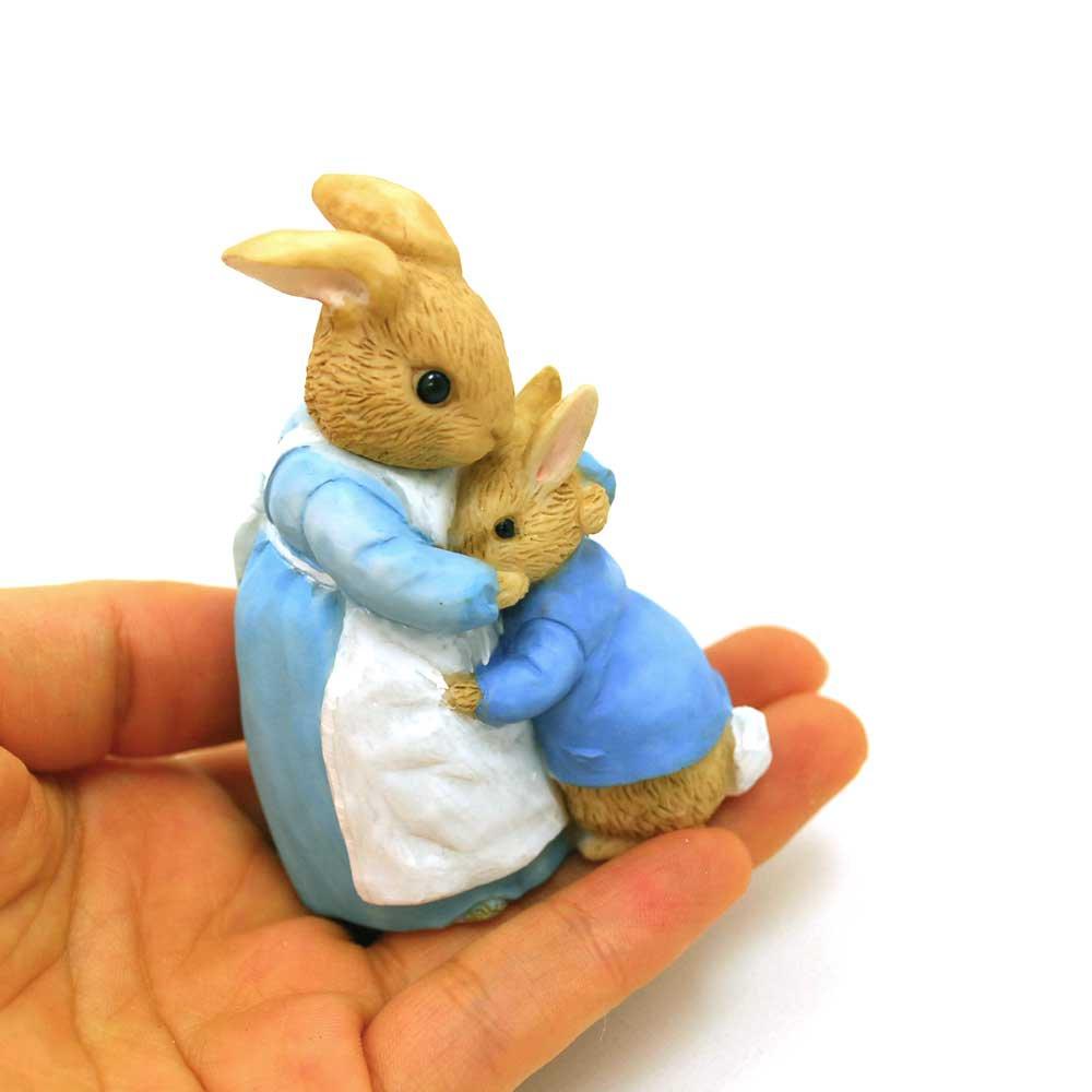ピングー Enesco BP ミニフィギュア(Mrs.Rabbit&Peter) A26909 PR