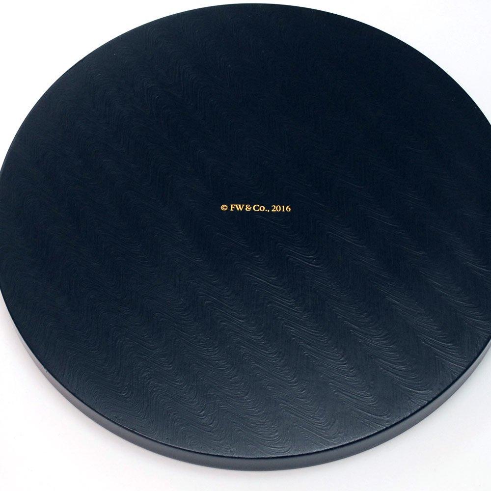 ピングー 【お取り寄せ】丸盆(ピーターラビットA 貝入)黒  PR