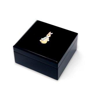 【お取り寄せ】小箱(ピーターラビットA 貝入)黒  PR