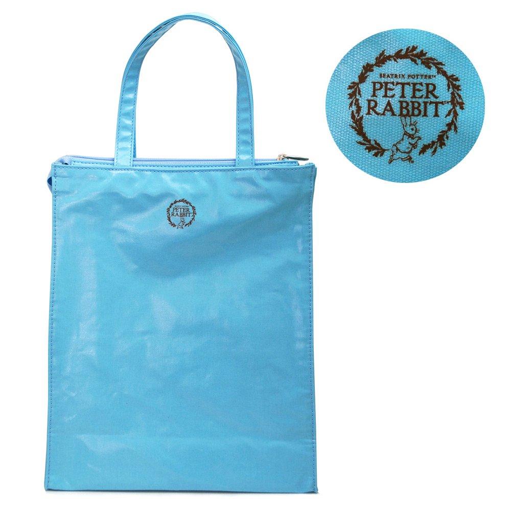 ピングー エナメルトートバッグ M(ブルー) #0625 PR