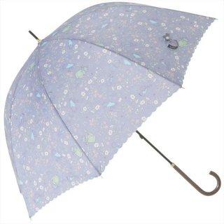 長傘(ナチュラルガーデン)グレー 8601 PR