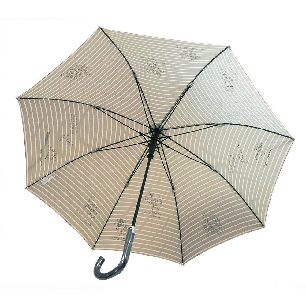 ピングー 【生産終了品】長傘(ボーダージャンプ)グレー 8603 PR