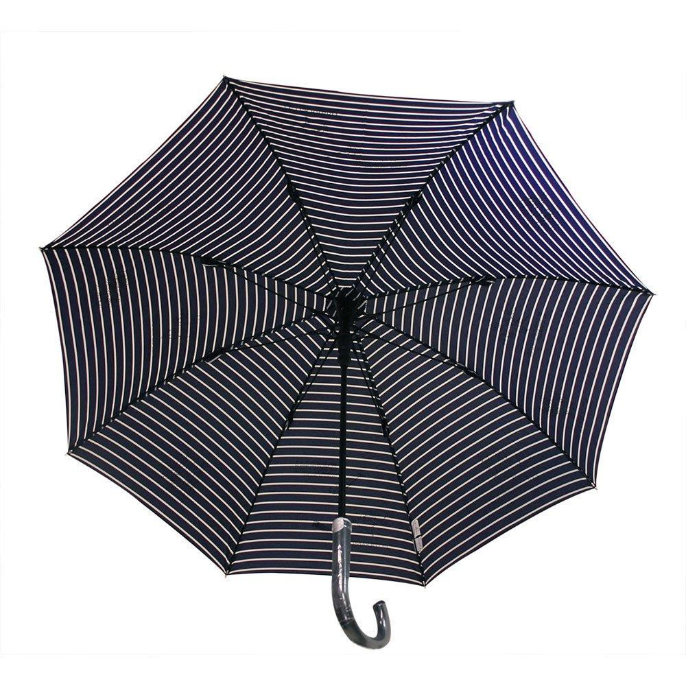 ピングー 【生産終了品】長傘(ボーダージャンプ)ネイビー 8603 PR