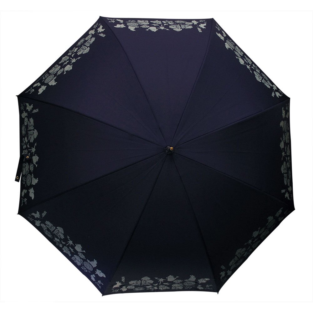 ピングー 【生産終了品】長傘(ダマスク)ネイビー 8605 PR