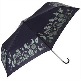 【生産終了品】折りたたみ傘(ダマスクミニ)ネイビー 8606 PR