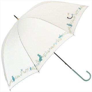 長傘(プチガーデン)オフホワイト 8607 PR