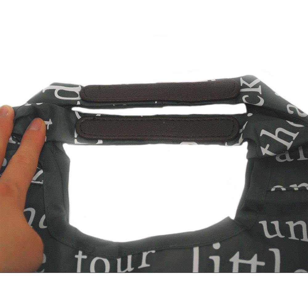 ピングー コンパクトくり手ショッピングバッグ(S) グレー 0626 PR
