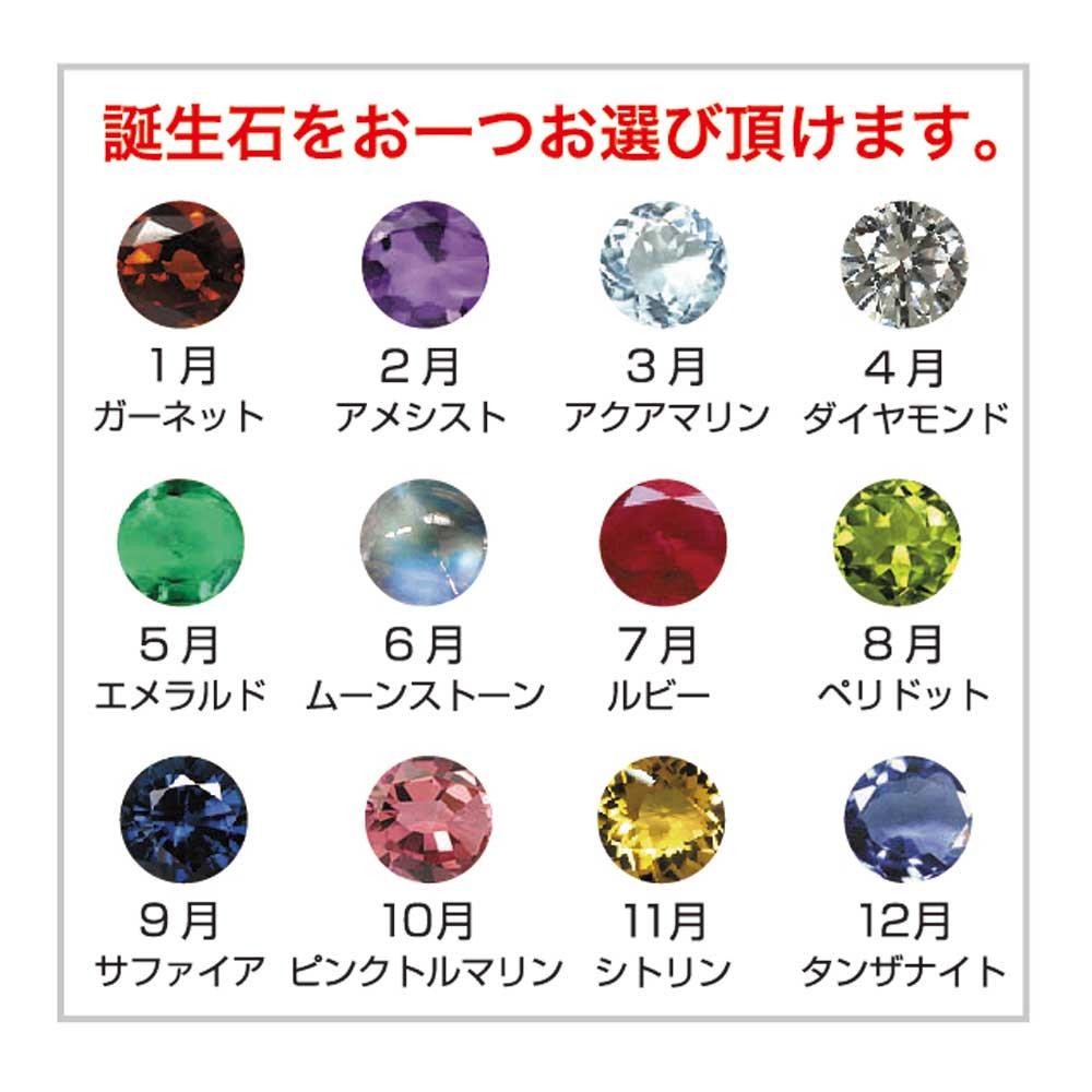 ピングー 【受注生産】純金インゴット(5g) 誕生石ペンダント「ラディッシュ」 PR