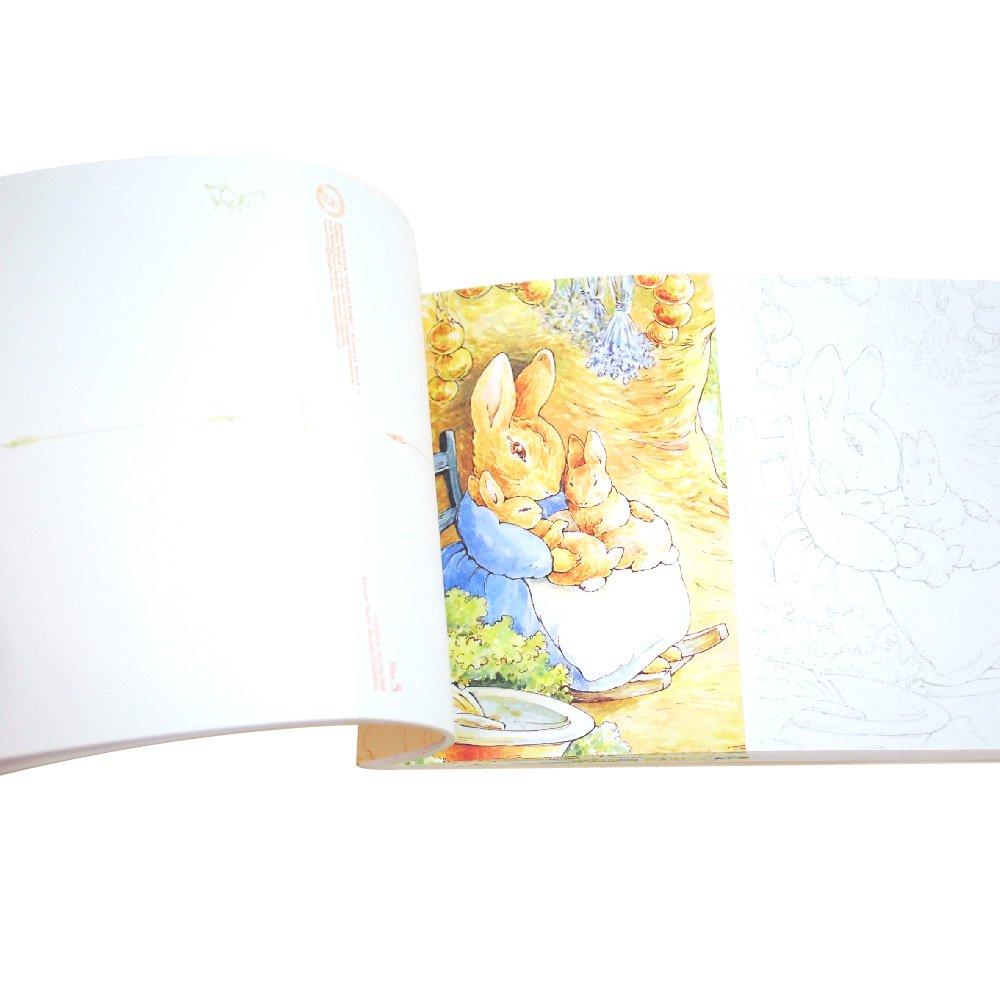 ピングー 大人の塗り絵 POSTCARD BOOK ピーターラビットと仲間たち編  PR