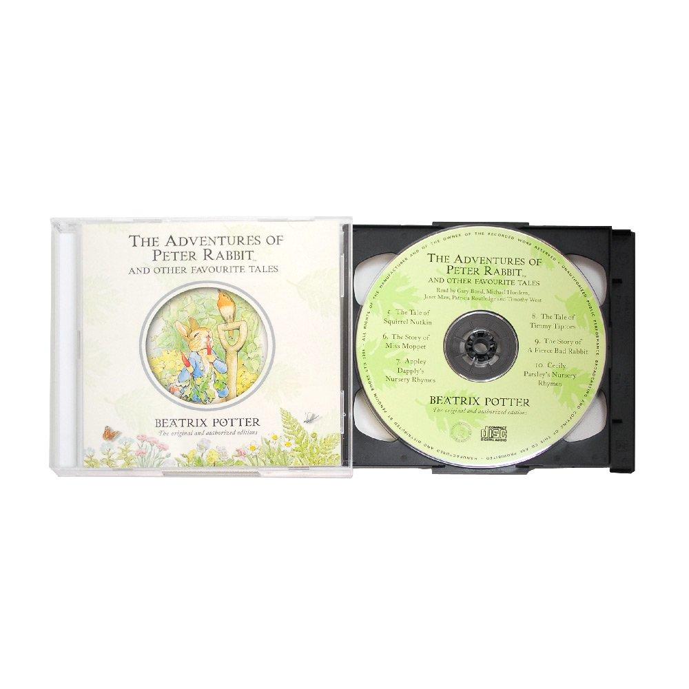 ピングー 【英語のえほんの朗読CD】Beatrix Potter The Complete Tales PR