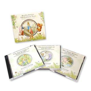 【英語のえほんの朗読CD】Beatrix Potter The Complete Tales PR