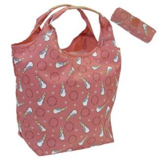 ショッピングコンパクトバッグ(ピンク) #0634 PR